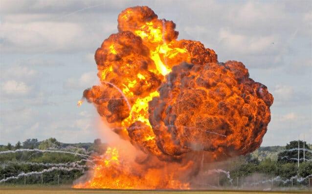 esplosione casa